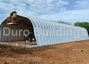 Durospan Steel 32 x40 x18 Metal Buildings Diy Home Kits Open Ends Factory Direct