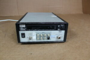 Systron Donner 6520 Microwave Counter 08348603 Sr No 51001 7