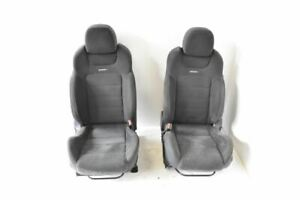 2017 2019 Nissan Sentra Nismo 1 6 Turbo Complete Set Of Suede Seats Front Rear