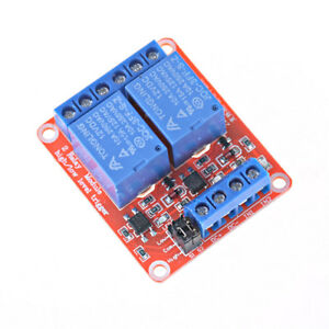 2 Channel 12v Relay Module Board Shield With Optocoupler Support Trigger Rela G3