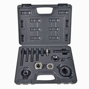 14pc Pulley Puller And Installer Power Steering Pump Remover Alternator Ac Kit