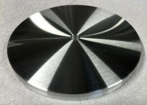 Aluminum 5 Disc 5 00 Bar 37 Plate With 3 8 Hole 6061 Disk Made In Usa