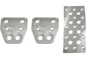 Steeda Aluminum Pedal Covers Manual For 2005 14 Ford Mustang