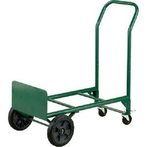 Convertible Hand Truck Dolly Moving Trolley Warehouse Cart Rolling Platform 2in1
