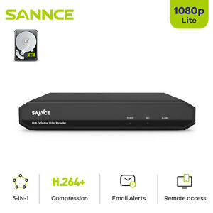 SANNCE 16CH 8CH 4CH HD 1080P HDMI DVR Video Recorder for CCTV Security System $79.89