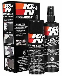 K N Air Filter Recharger Kit 99 5050 Care Service Squeeze Oil Cleaner