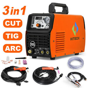 Ct520 3in1 Air Plasma Cutter Welder Tig mma cut Welding Machine Inverter 220v