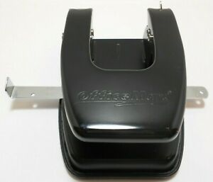 2 Hole Punch Black Office Max Black Trash Catcher