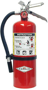 Amerex B402 5lb Abc Dry Chemical Class A B C Fire Extinguisher With Wall Brack