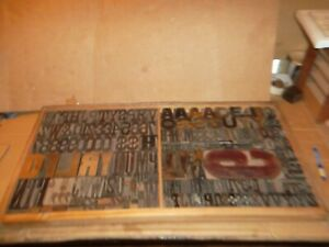 Lot 195 Pieces Rare Vintage Hamilton Wood Type 6 50 Line 1 8 25 s Case