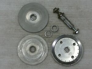Wacker Bts 1035 Axle Spindle Pulley Plates Washers Bolts
