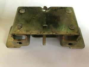 Hard To Find Nos British Leyland Mg Trunk Boot Latch Ready To Install