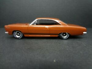Auto World 1966 Mercury Comet Cyclone Gt Emberglo Loose New 1 64 Scale
