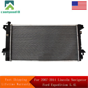 Radiator For 2007 2014 Lincoln Navigator Ford Expedition 5 4l Fast Shipping