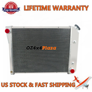 4 Row Aluminum Radiator For Chevy 68 74 Nova Bel Air Impala 75 87 Gmc Caballero