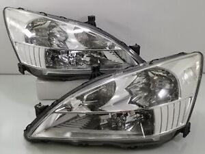 Jdm Honda Accord Saber Inspire Uc1 Uc3 Cm5 Hid Headlights Lamps Light 03 08 Oem