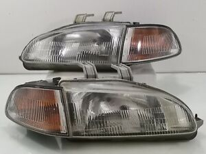 Jdm Stanley Honda Civic Eg6 Sr3 Ej 2door Head Lamp Corner Angle Light 1992 95 Eh