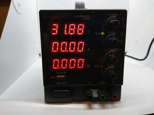 Dc Power Supply Variable 30v 10a Kaiweets 4 digit Large Display Adjustable Swit