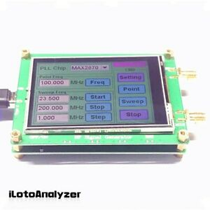23 5 6000m Rf Signal Generator Frequency Sweep Touch Screen Pc Controllable New