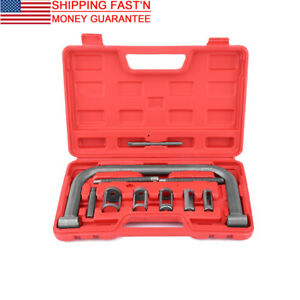 10pcs Valve Spring Compressor Tool Kit For Car Motorcycle Petrol Engines