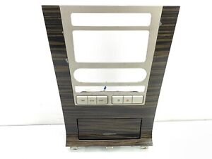 07 14 Lincoln Navigator Center Console Middle Front Radio Heater Bezel Panel Oem