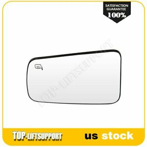 Flat Mirror For 2008 11 Ford Focus Heated Left Side Mirror Chrome