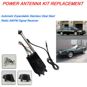 For Cadillac Deville Catera Allante Power Antenna Conversion Kit Electric Aerial