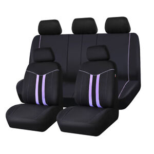 Carpass Car Seat Cover Purple100 Polyester 2021 Universal For 40 60 50 50 60 40