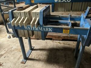 Watermark 1 5 Cu Ft Filter Press