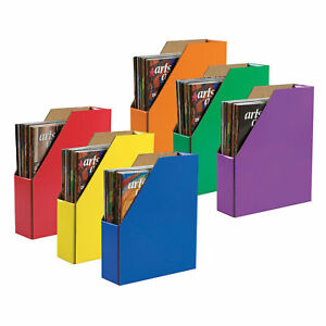 Desk Storage Organizer File Paper Classroom Keepers Freestanding Multicolored