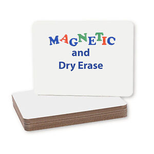 Magnetic Dry Erase Board Durable Rounded Corners Non Ghosting Drawing Writing
