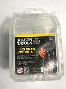 Klein Tools 7 piece Fish Rod Attachment Set 56511 New