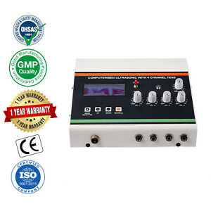 4 Channel Tens Computerized Ultrasonic Electrotherapy Ultrasound Machine