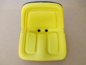 Yellow Seat For John Deere Jd Garden Tractor 112 120 140 208 210 212 214 216 300
