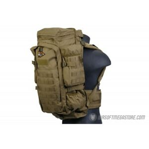 Lancer Tactical Airsoft 45 MOLLE Nylon Rifle Backpack TAN $64.71