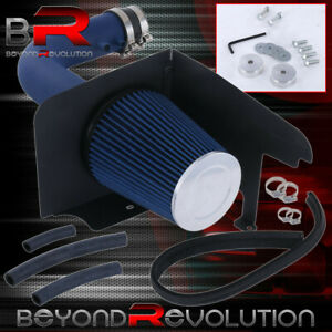 Blue Air Intake Racing Systemfilter For 97 03 Ford F150 Expedition 4 6 5 4l