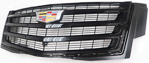Oem Cadillac Escalade Sport Black Grille With Camera New