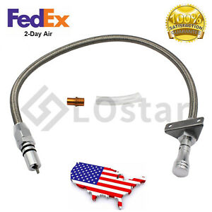 Flexible Stainless Transmission Dipstick Fits Gm Chevy Th350 Th400 Turbo Sbc Bbc