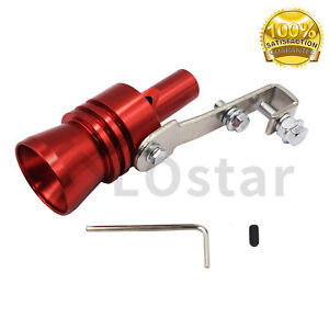 Car Fake Turbo Oversized Sound Exhaust Whistle Blow Off Valve Simulator Xl