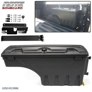 Fit For Chevy Silverado Gmc Sierra 2007 2018 Right Truck Bed Storage Box Toolbox