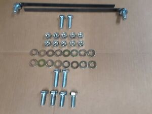 Fisher 7168 Snow Plow Mount Bolt Kit 03 06 Chevy gmc 1500 68154 Minute 2 Bag