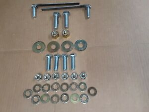 Fisher 7169 Snow Plow Mount Bolt Kit 03 10 Chevy gmc 2500 3500 Minute Bag 28875