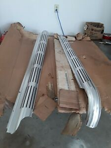 1965 1967 Corvette Nos Side Pipe Covers 3872283 3872284 Ncrs Look