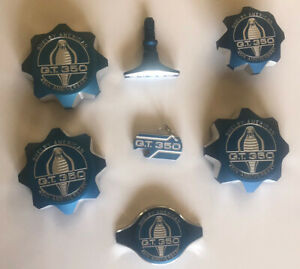 7 Pc 2010 Original Mustang Shelby Gt 350 Dress Up Engine Cap Cover Obsolete Set