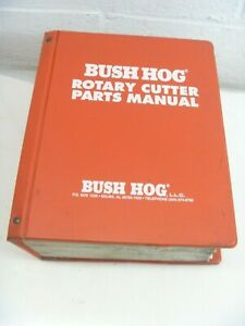 Bush Hog Parts Manuals Loader Post Digger Box Blades Dealer Material Handling