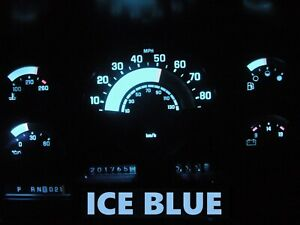 Gauge Cluster Led Dashboard Bulbs Ice Blue For Chevy Gmc 88 91 C k Series Truck