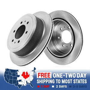 For 2006 2009 Nissan Patrol Rear Premium Oe Plated Brake Rotors