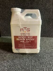 Rtg Supply Co Wood Rot Repair Epoxy Resin 2 Part a B Quart