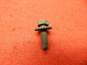 1 Nos 60 67 Ford Fender Hood Hinge Bumper Bolt Screw Retainer 353483 s2