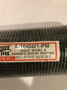 1930 1931 Model A Ford Running Board Mats With Cement
